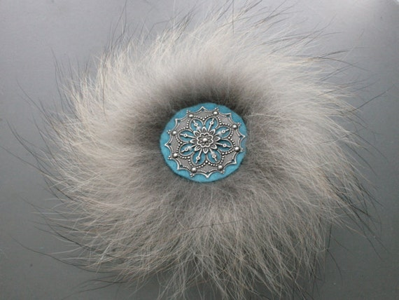 Arctic Cathedral - Wolf Fur Pin