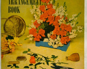 Vintage Sunset Floral Arrangement Book (1940s/1950s)