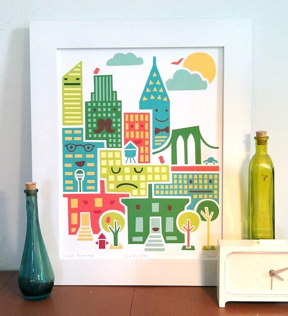 SALE: Friendly City Print