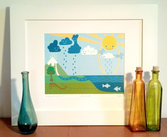 Water Cycle Print (Small)