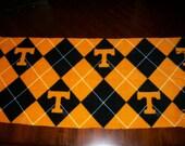 University of Tennessee Argyle Fleece Scarf