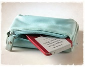 00's Second  Hand Folded Wallet - DOCA Mint