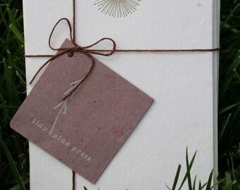Sunburst Flower Stationery Set