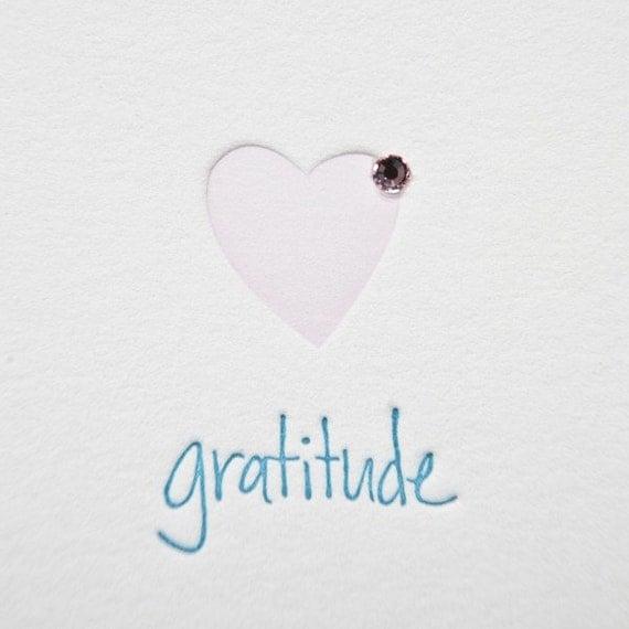 Joyful Heart Foundation Gratitude cards by Tiny Pine Press