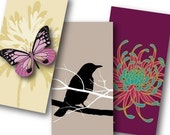Four Seasons 1x2 inch Domino Tiles, Digital Collage Sheet, Download and Print Jpeg Images