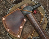 Blacksmith Custom Forged Hammer Poll Tomahawk/ Axe