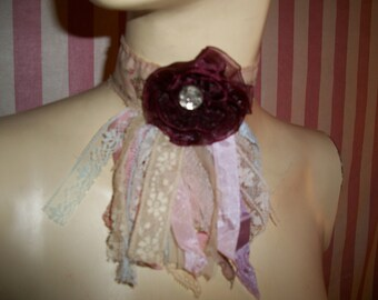 Antique French Lace Choker