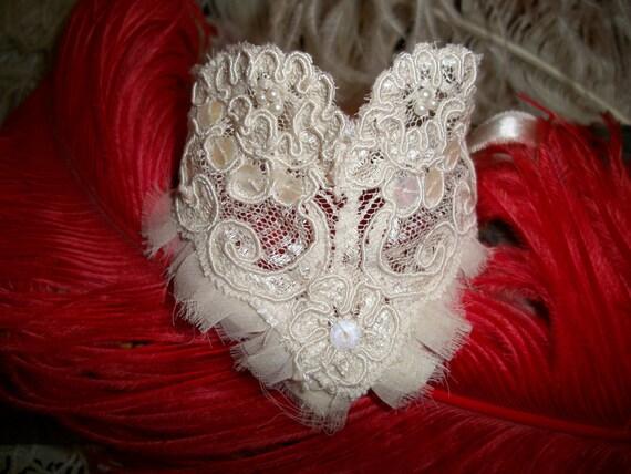 Antique Lace Wedding Cuff