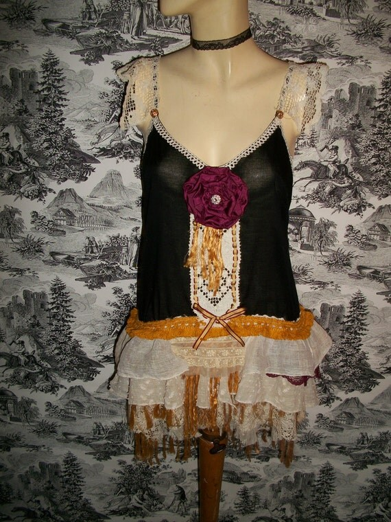 The Tattered French Doberge Cake Dress