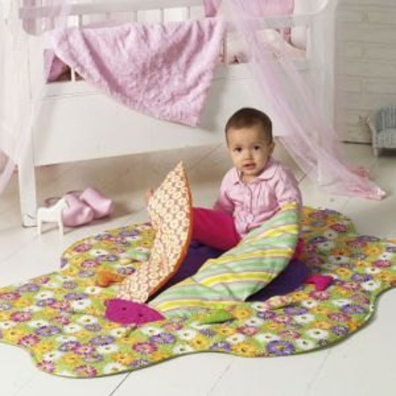 Baby Play Blanket or Interactive Quilt Pattern - Burda 7615