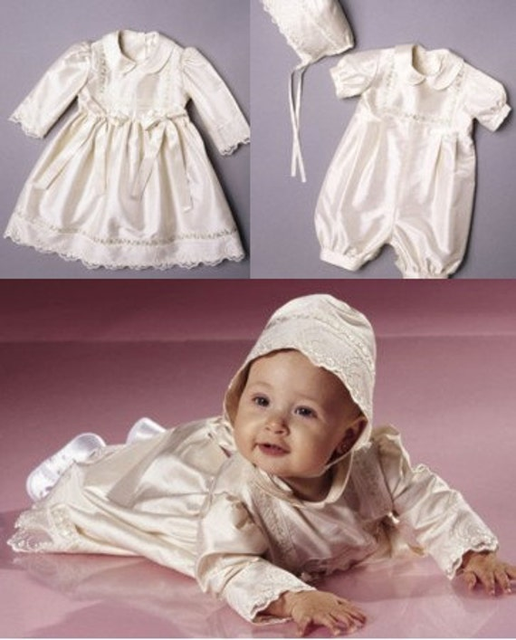 Boys and Girls Christening Outfits Pattern - Burda 9756 size 3-18 months
