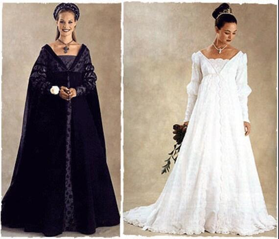 McCalls 3053 Italian Renaissance Bridal Gowns By