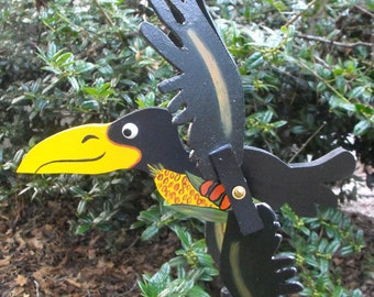 Crow Whirligig
