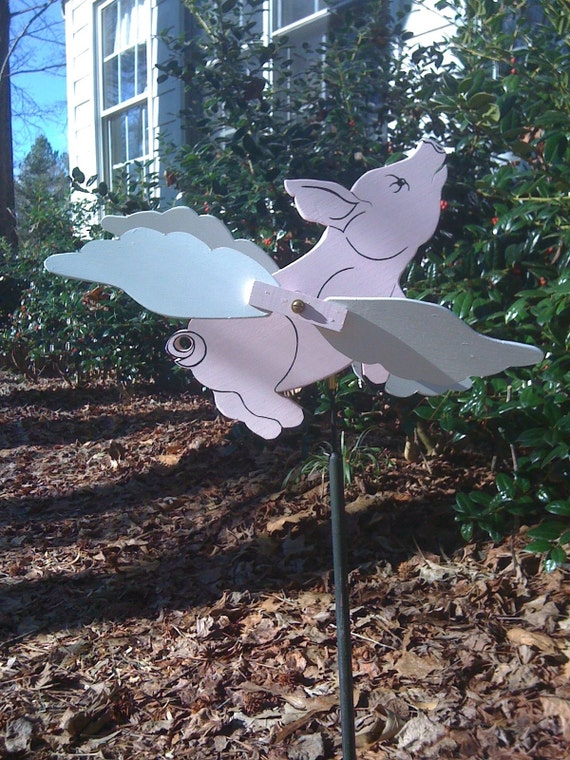 When Pigs Fly Whirligig