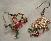 Vintage Christmas Earrings by Edgar Berebi