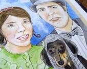Family Portrait (Painted)