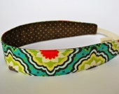 Reversible headband in 100 percent cotton