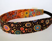 Reversible headband in 100 percent cotton