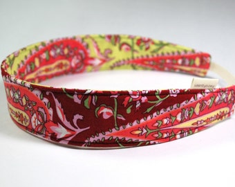 Reversible headband in Amy Butler Love 100 percent cotton