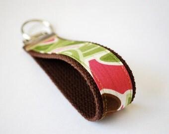 key fob fabric wristlet in Santorini by Moda