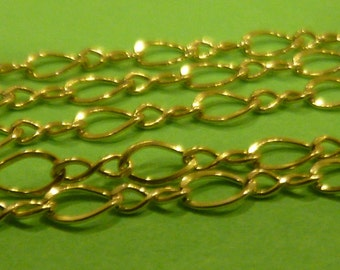 14k Gold Filled 16 inch figure eight twisted Chain - GF2121