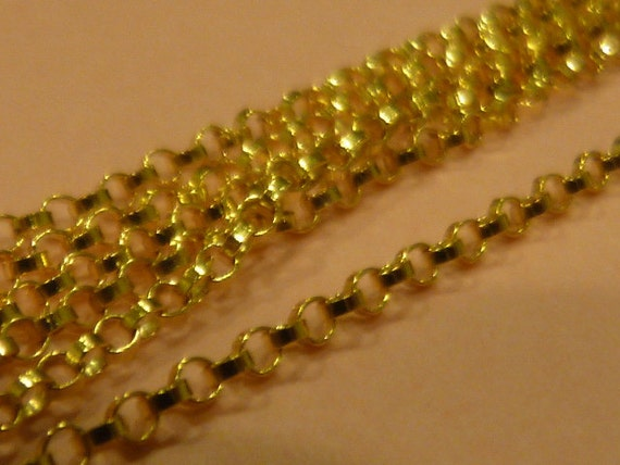 14k Gold Filled 16 inch Rolo Chain - GF1121