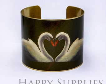 Last-Clearance Sale - New Technology - 1pcs (PBC005) Handmade Photo Brass Cuff Bracelet