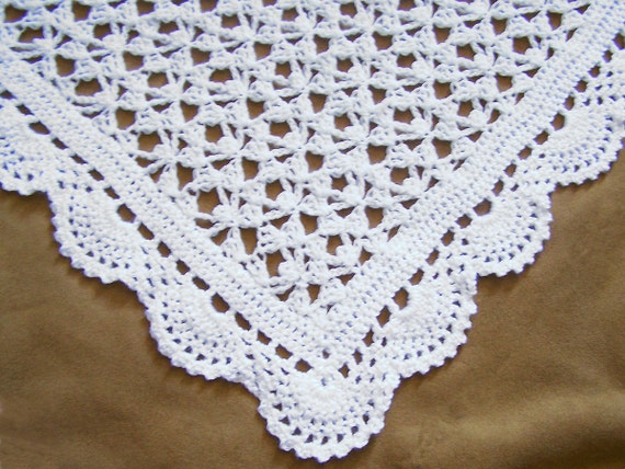 Free Crochet Patterns Christening Shawls : Unavailable Listing on Etsy