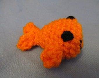 Crochet Goldfish Cat Toy