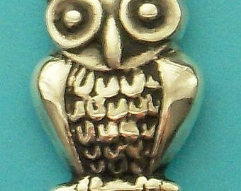 Owl pendant - Native American bringer of dreams symbol