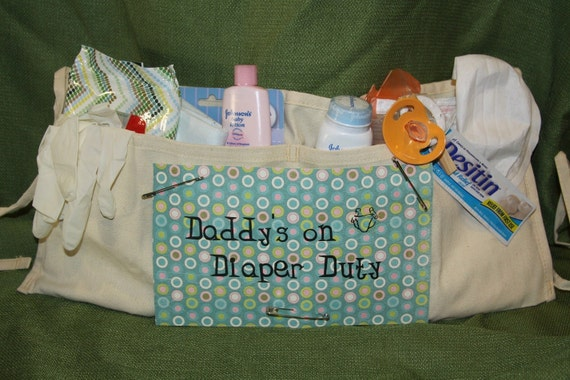 Daddy S On Diaper Duty Tool Belt By Custombabygifts On Etsy