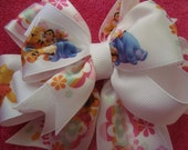 WINNIE THE POOH AND FRIENDS HAIRBOW
