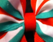 Mexican heritage mini hairbow