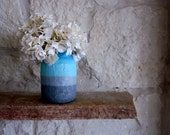 Jar Vase Turquoise and Aquamarine Home Decor