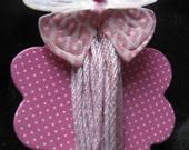 PIF / Hand dyed cotton twine, pink