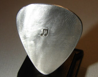 Sterling Guitar Pick Handmade for the Serious Musician