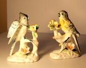 Pair of Ardalt Birds Lenwile Fine China Verithin