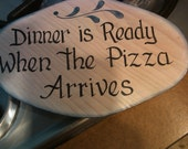 Kitchen Plaque Hand Painted n signed by Artist  Clearance SALE