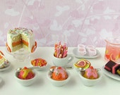 RESERVED FOR MINTERIORS Complete Ice Cream Social Collection- 1/12 scale