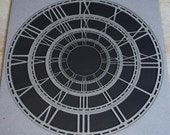 Dusty Attic Chipboard Skeleton Clock Faces DA0430 Scrapbooking Craft Embellishment