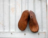 Rustic Vintage Wooden Child Last - From New England Shoe Factories - Photo Prop Display