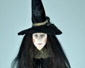 OOAK Artdoll Witch Clara.