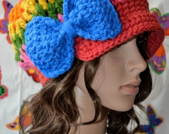 Orawan sweet  bow cap hat A2