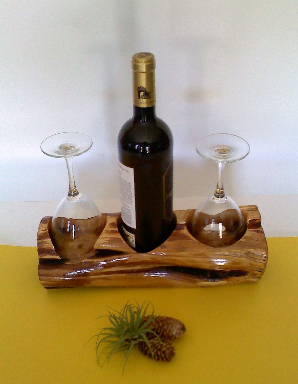 Wooden Tabletop Wine Rack