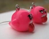 Medium Pink Boo earrings