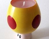 Mario Mega Mushroom- One Mario Inspired Vanilla Scented Candle