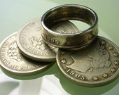 """COIN RING - (( United States """"V"""" Nickel )) - ( Choose The Year & Ring Size You Want )"""