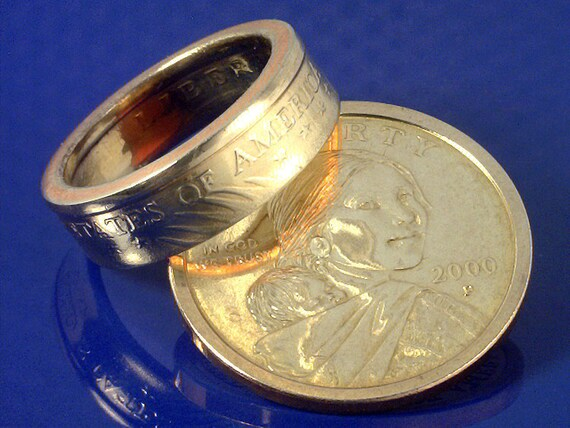 how to turn a dollar into a ring