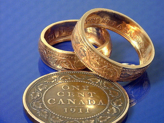 coin rings canadian