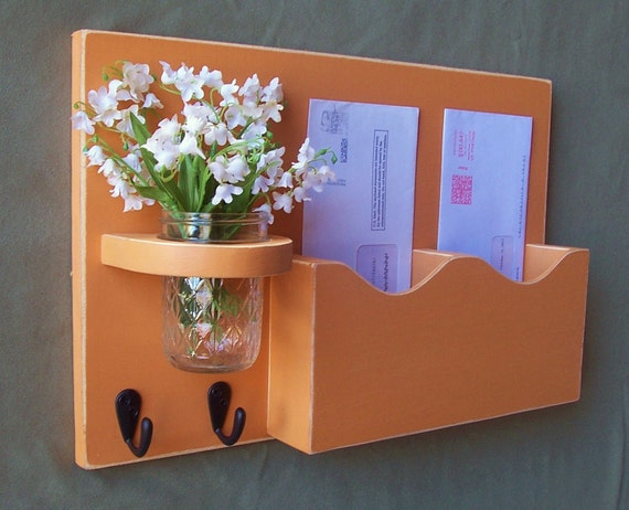 Mail Organizer Mail And Key Holder Letter Holder By Legacystudio